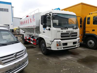 东风散装饲料运输车 25.3万