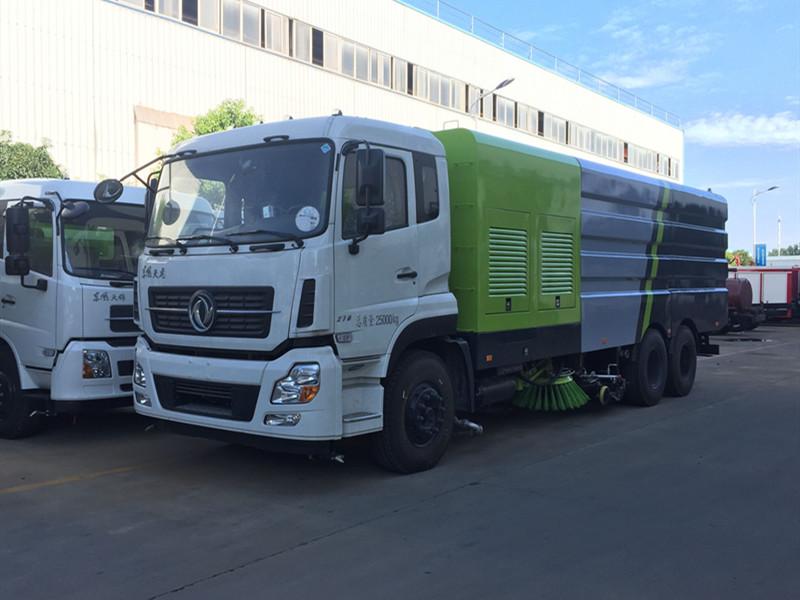 国六东风天龙高端大型多功能洗扫车