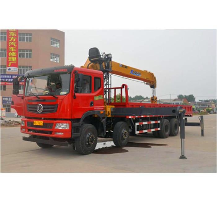 国六东风华神T5前四后八14吨16吨随车吊