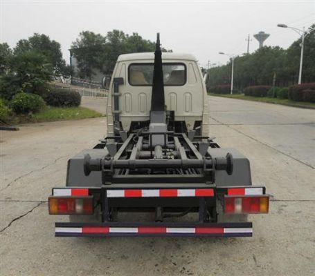 福田2.5方勾臂式车厢可卸式垃圾车