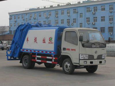 多利卡压缩式垃圾车