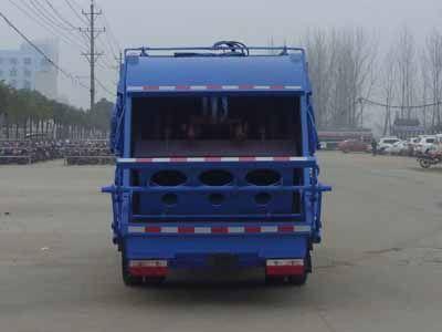 东风小多利卡5方压缩式垃圾车