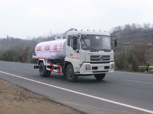 东风天锦12吨真空吸粪车