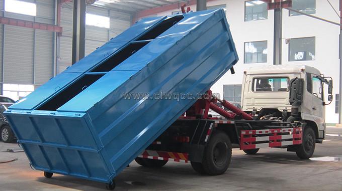 東風153/12方車廂可卸式垃圾車