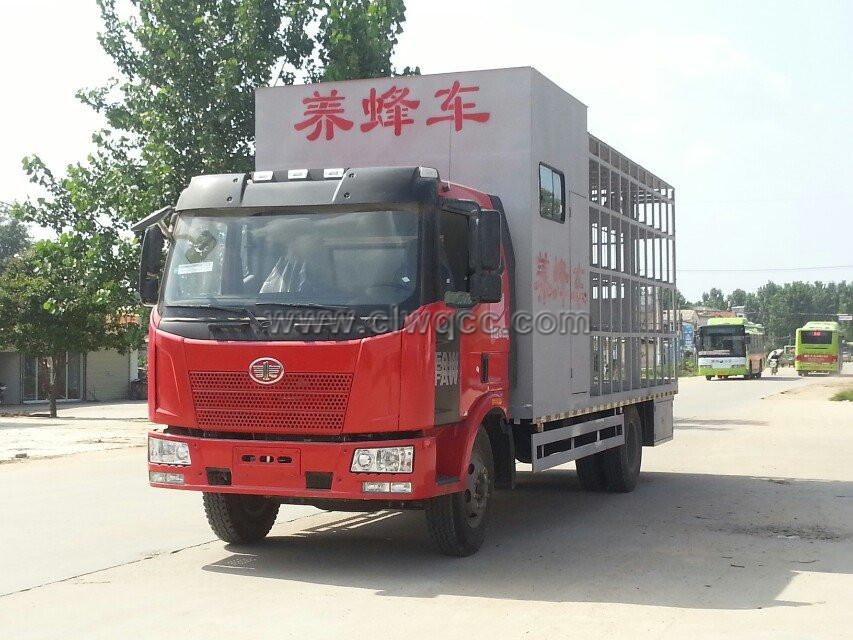 解放J6單橋養蜂車(帶房)