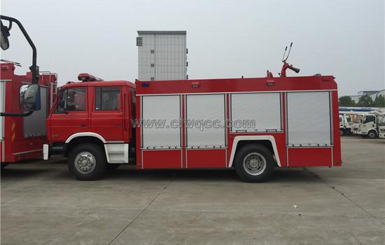 6噸東風153泡沫消防車