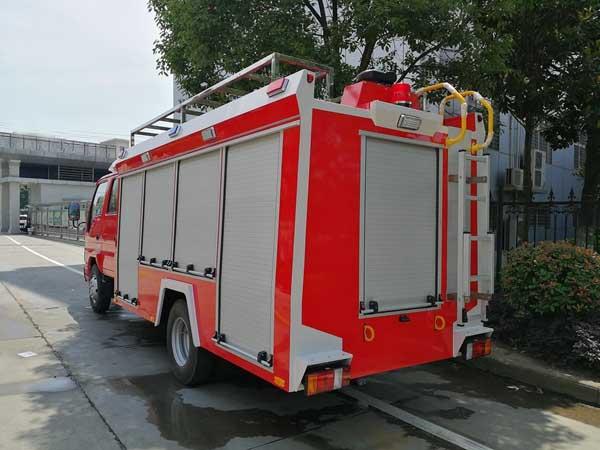 慶鈴五十鈴2噸水罐消防車