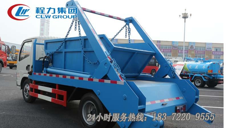 東風多利卡4方擺臂式垃圾車