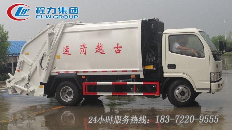 東風小多利卡6方壓縮垃圾車