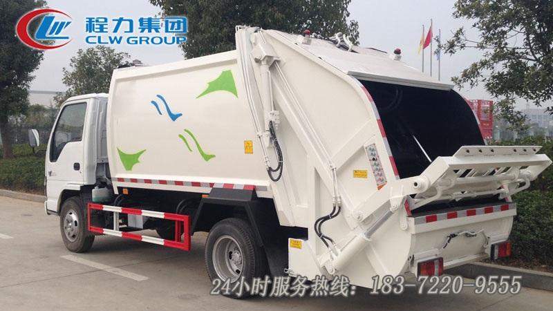 五十鈴6立方壓縮垃圾車