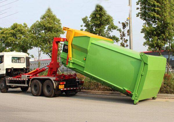 8方移動壓縮垃圾箱
