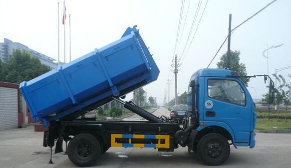拉臂式垃圾车广泛适用与城市街道学校垃圾处理