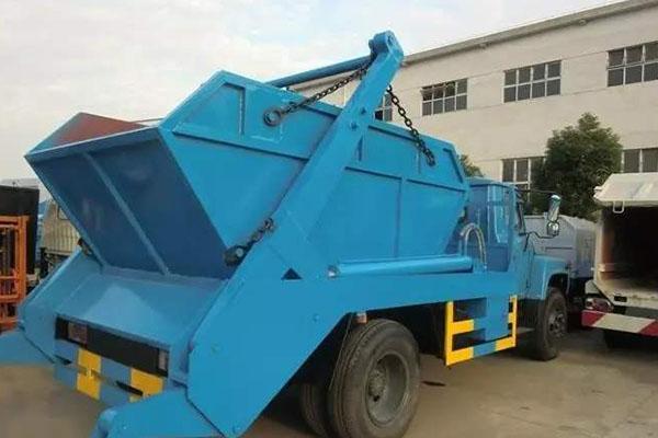 摆臂式垃圾车具有哪些优点