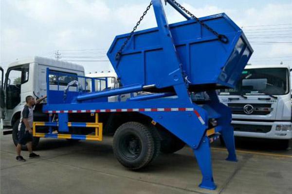 摆臂式垃圾车如何正确操作