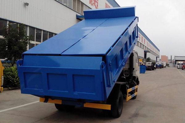 挂桶式自装卸垃圾车优势