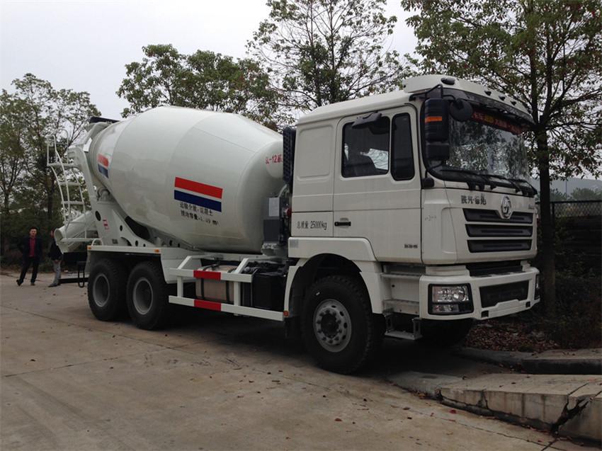 陕汽德龙14-15混凝土搅拌运输车