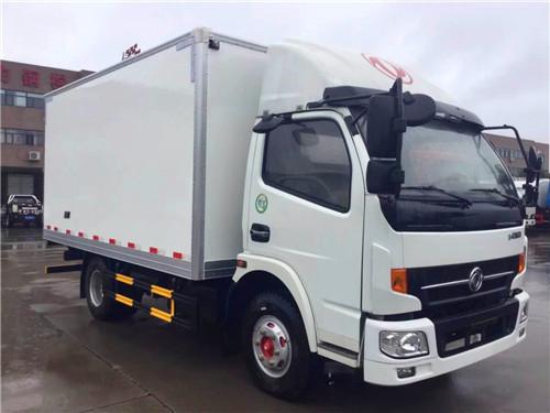 东风凯普特肉钩冷藏车(厢体4.17米)