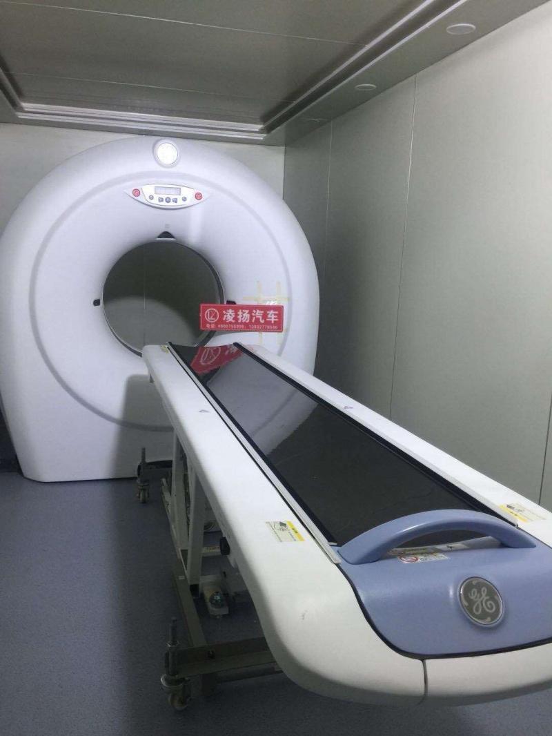 移動CT方艙體檢車