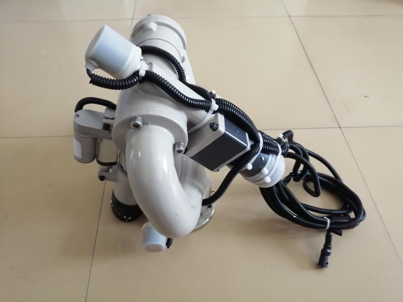 铝合金双管智能电动洒水炮