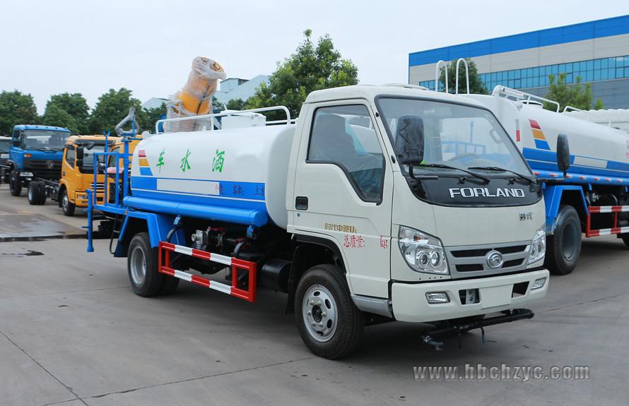福田时代4吨雾炮车