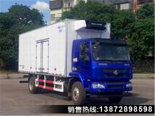 乘龙7.5米冷藏车