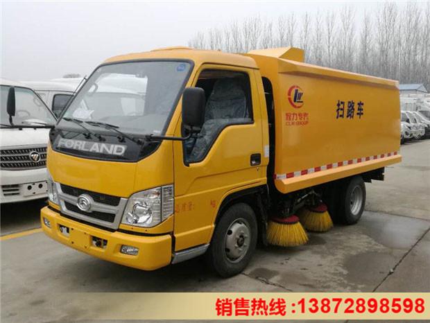 福田时代4吨蓝牌扫路车