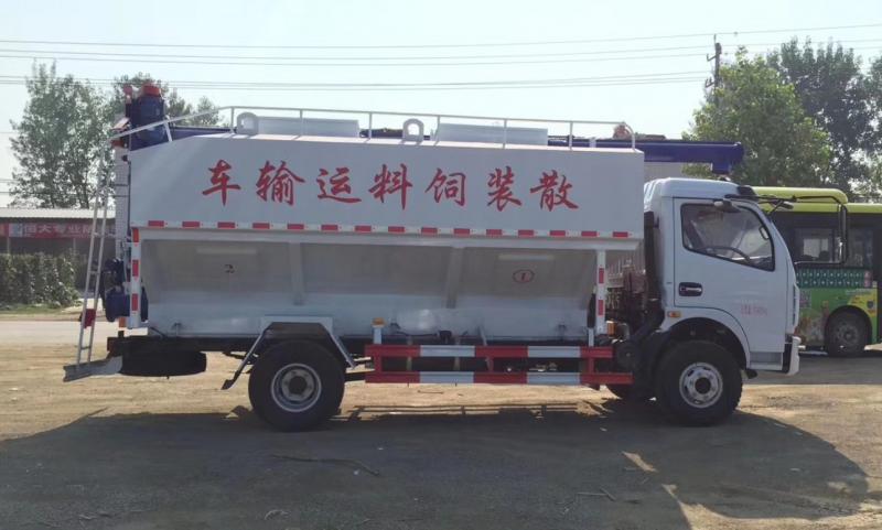 东风多利卡(12方)散装饲料车图片