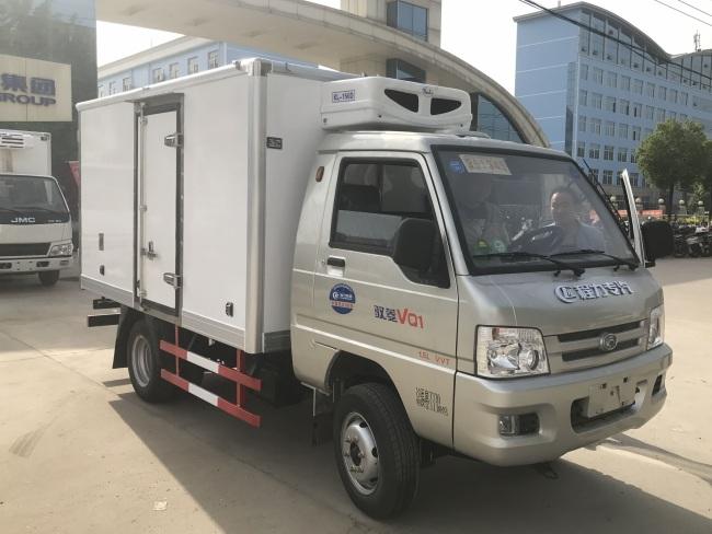 福田驭菱国五2.9米冷藏车