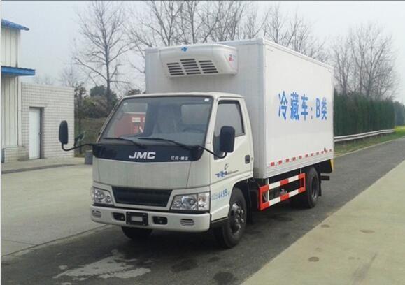 江鈴4.2米小型冷藏車報價