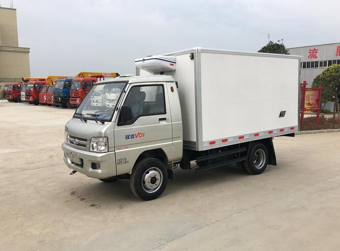 福田馭菱后雙輪小型冷藏車(國五)