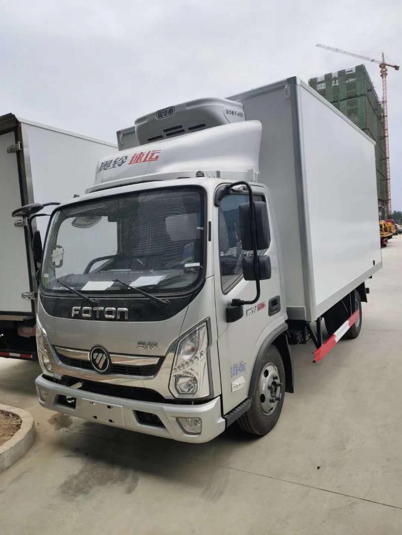 福田奥铃速运国六4.2米冷藏车