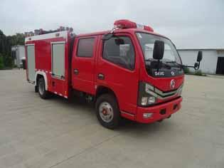 东风多利卡3方水罐消防车国六价格