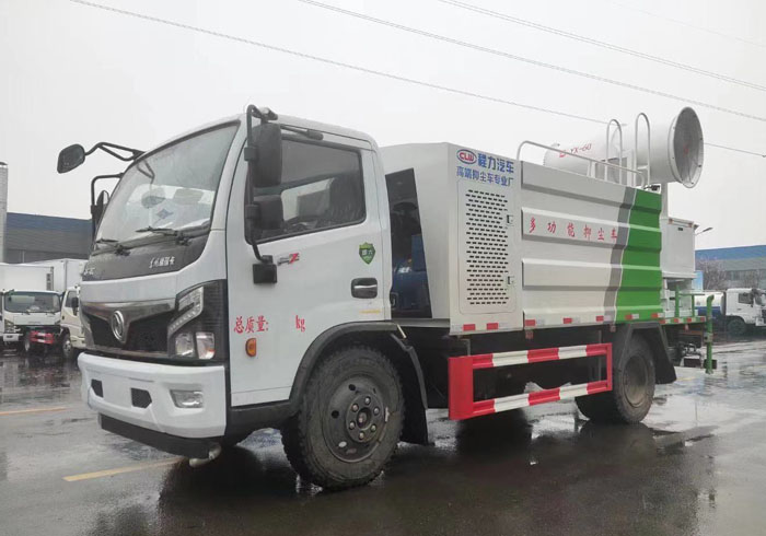 国六东风福瑞卡8方多功能抑尘车
