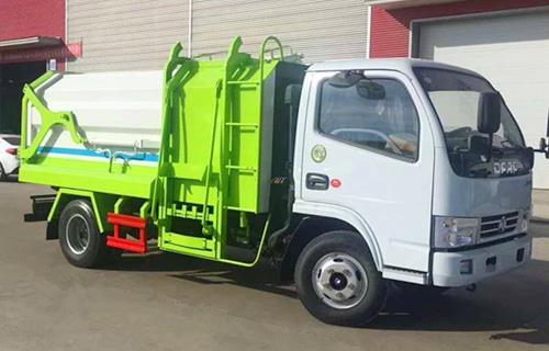 东风小多利卡侧装压缩式对接垃圾车