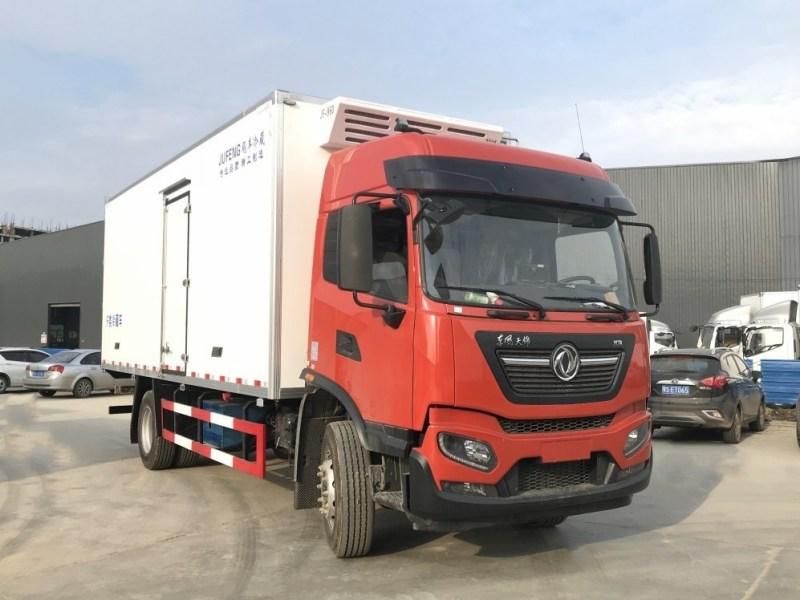 新款东风KR6米8冷藏车