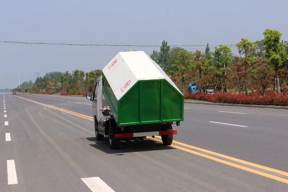 凯马双燃料拉臂垃圾车