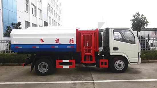 东风锐铃挂桶垃圾车(5)方