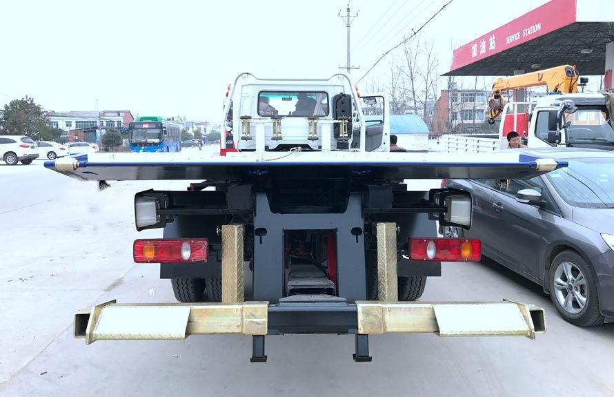 天锦7.2米平板清障车