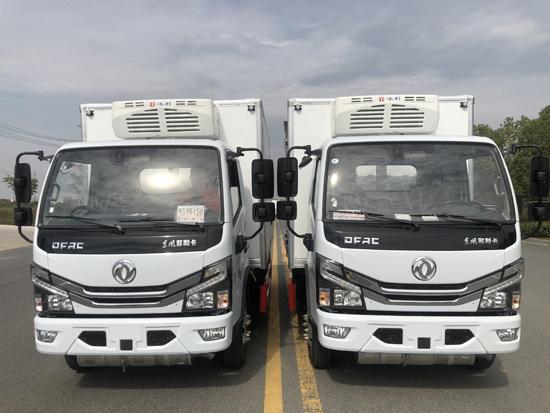 东风多利卡国六医疗废物转运车(蓝 牌)