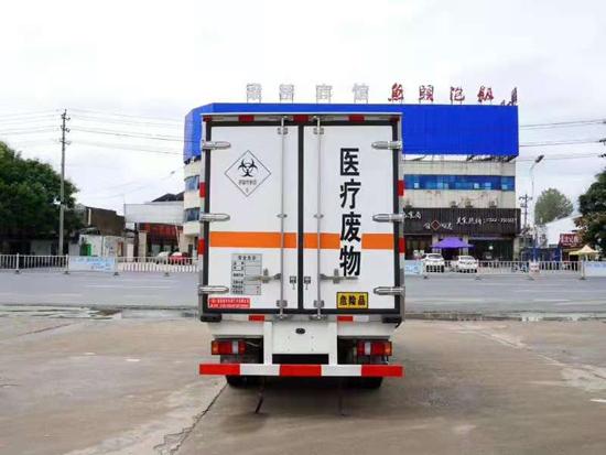 江鈴國六醫療廢物轉運車