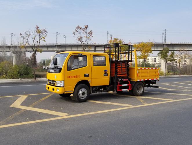 东风蓝牌6-10米EQ1041DJ3BDF垂直升降作业车