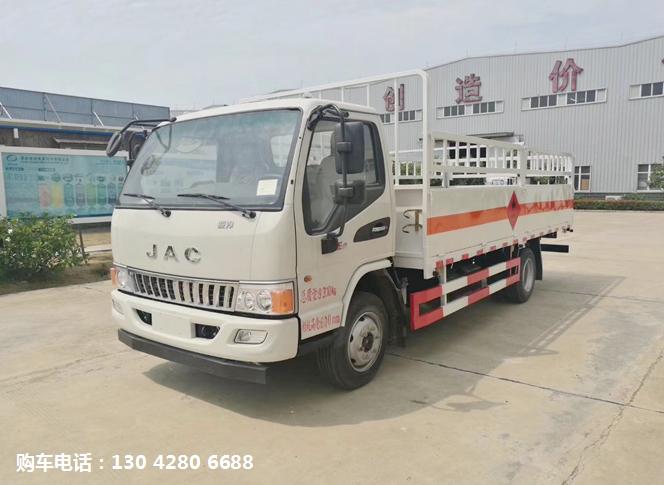 江淮5.05米氣瓶運輸車