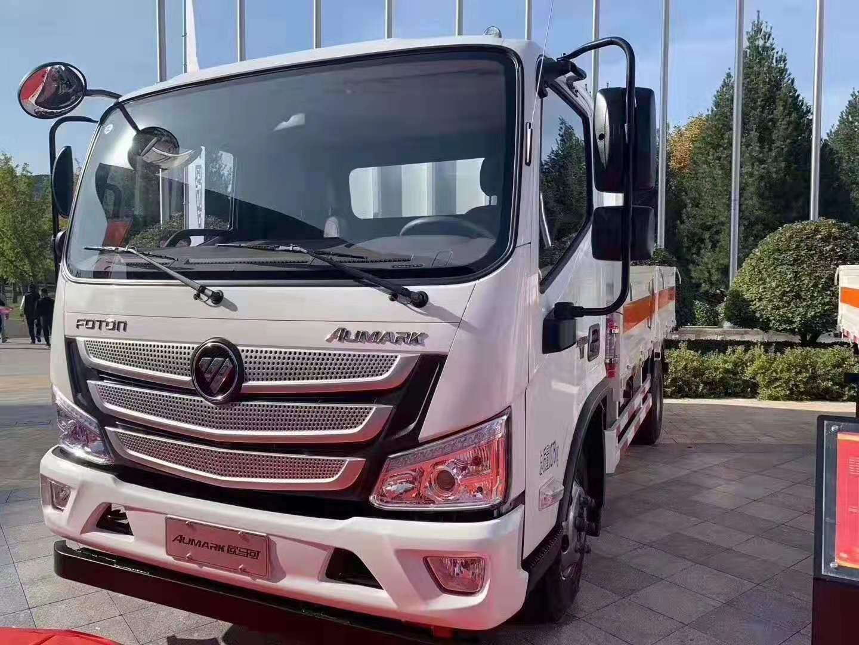 福田歐馬可4.26噸氣瓶運輸車