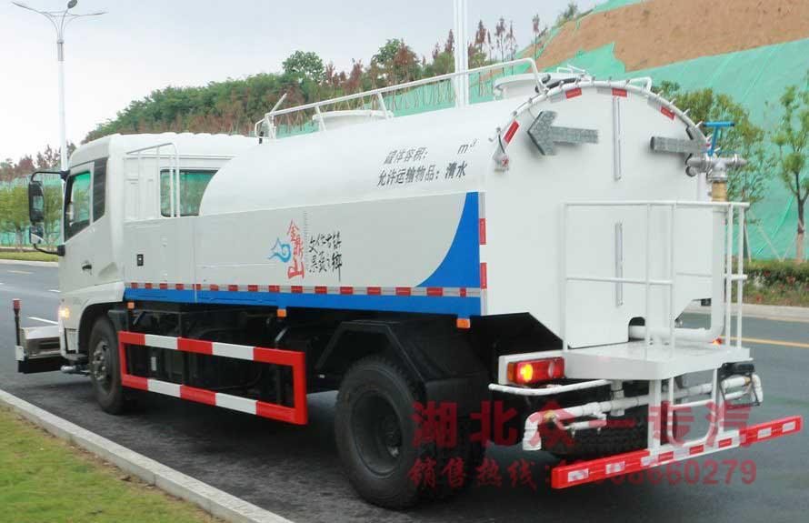 东风天锦路面高压清洗车