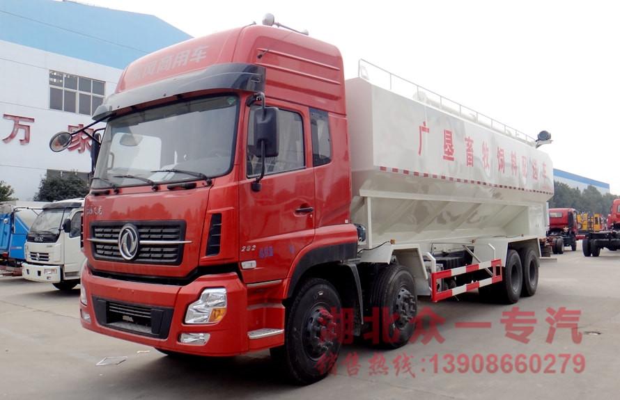 天龙前四后八20吨饲料运输车