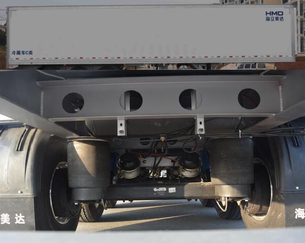 全承载翼开启厢式半挂车