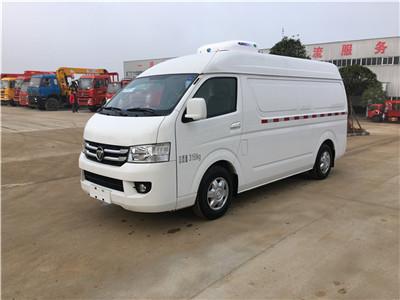 福田G7面包双排冷藏车-厢长1.68米