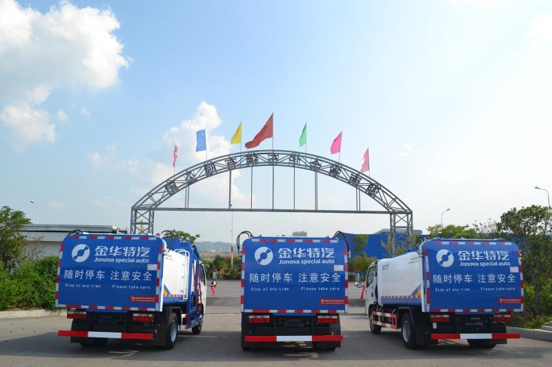老司机火速发车——压缩式对接垃圾车驶向桂林市七星区环境卫生管理站