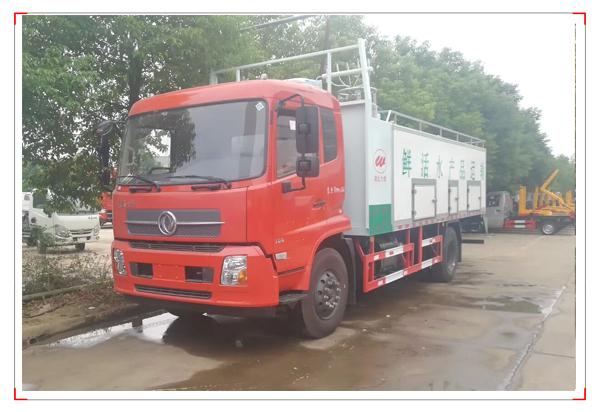 东风天锦国六运鱼车