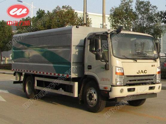 HLW5100XTY6HF型密闭式桶装垃圾车
